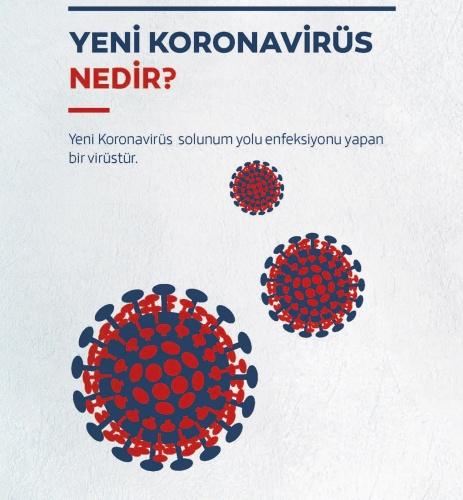 MECBUR KALMADIKÇA SOKAĞA ÇIKMA ELAZIĞ!  Sağlık Bakanlığından paylaşılan broşürde, yeni tip koronavirüs (Kovid-19) solunum yolu enfeksiyonu yapan bir virüs olarak tanımlandı.