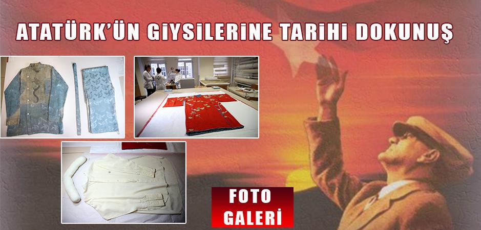Atatürk'ün ropdöşambır ve pijamaları 10  Kasım'a yetiştirildi.