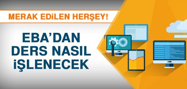 Koronavirüs önlemleri kapsamında Türkiye'de okullar bir hafta tatil edildi ve ardından da eğitimin 1 hafta online olarak yapılmasına karar verildi. Bu süreçte Türkiye'deki uzaktan eğitimin adresi ise Eğitim Bilişim Ağı (EBA) olacak. Peki EBA'da neler var? Sisteme kimler nasıl girebilecek? İşte merak edilen soruların cevapları...