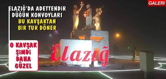 Elazığ Belediyesi tarafından Çaydaçıra Kavşağı'nda iyileştirme çalışmaları yapıldı.