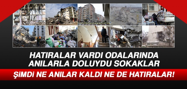 Elazığ'da meydana gelen depremin ardından şehirdeki ağır hasarlı binaların yıkımı sürüyor.