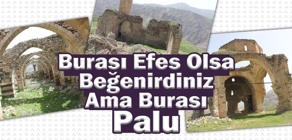 Palu tarihtir, tarih Paludur.  Buram buram tarih kokan Palu…  Palu ilçesinde çekilen fotoğraflar Palu'nun eşsiz güzelliğini bir kez daha gün yüzüne çıkardı