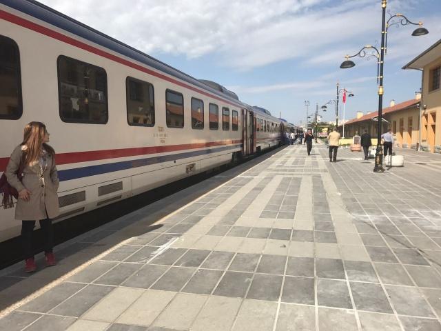 """Elazığ'da """"Harput-Palu Kültür Yolu Tren Yolculuğu"""" etkinliği düzenlendi."""