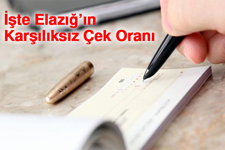 Türkiye Geneli ve şehirlerin ekonomik durumu hakkında bilgi veren karşılıksız çek oranlarının Mart ayı verileri açıklandı.