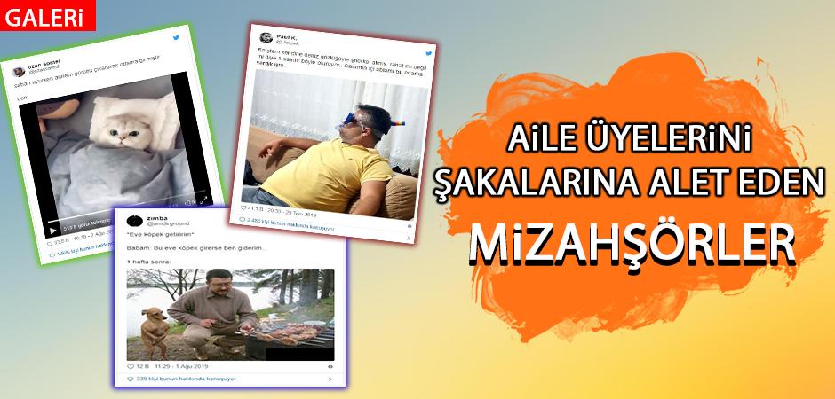 Sosyal medyanın goygoycuları bu hafta da aile üyelerini mizahlarına alet ederek hepimizi güldürmeyi başardı. İşte haftanın en eğlenceli 15 paylaşımı. :)