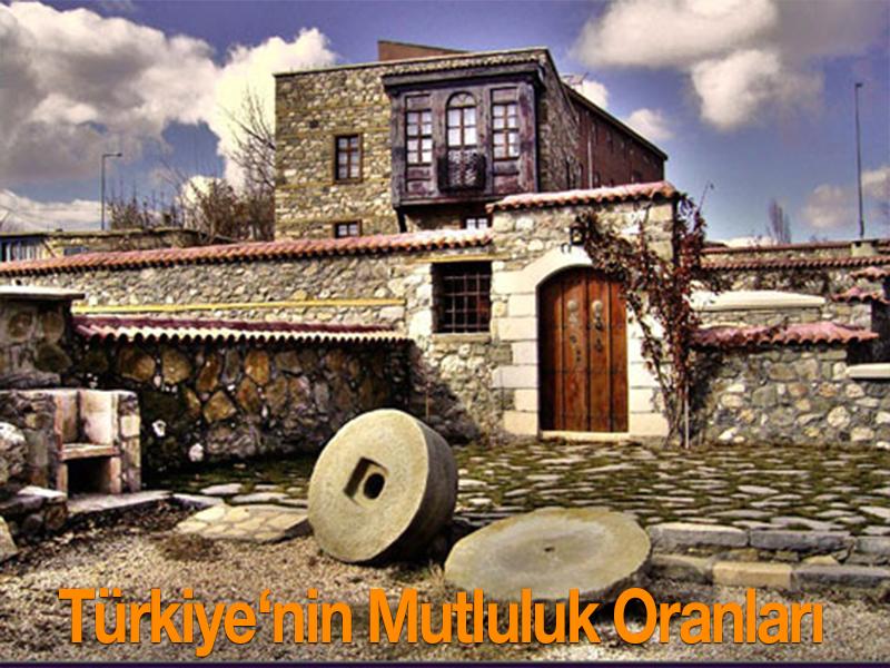 Türkiye İstatistik Kurumu'nun (TÜİK) son yayınladığı verilere göre Türkiye'de mutluluk düzeyi en yüksek olan iller belli oldu.