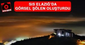 Sis Elazığ'da Görsel Şölen Oluşturdu