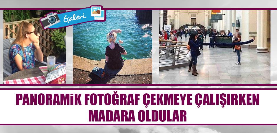 Panoramik Fotoğraf Çekmeye Çalışırken Madara Olmaktan Kurtulamamış 20 Şanssız İnsan