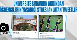 Üniversite Sınavının Ardından Öğrencilerin Yaşadığı Stresi Anlatan Tweetler