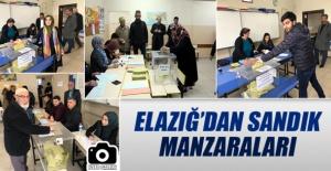 Elazığ'da Seçim Manzaraları