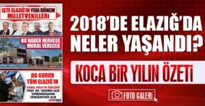 2018'de Elazığ'da Neler Yaşandı
