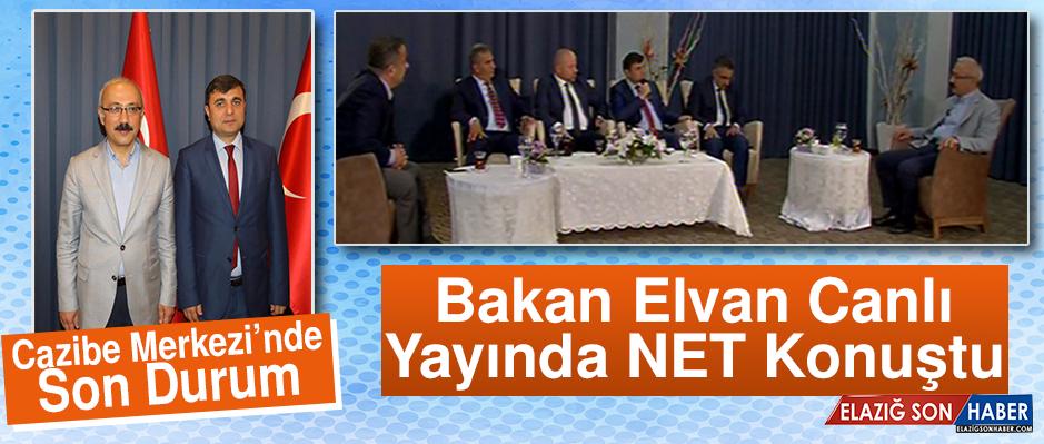 """""""Anadolu'da Referandum"""" programının konuğu Kalkınma Bakanı Lütfi Elvan oldu."""