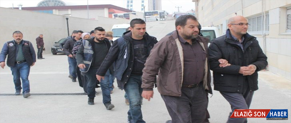 Elazığ'da FETÖ'den 11 öğretmen adliyeye sevk edildi