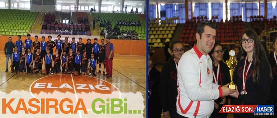 Gkv'nin Şampiyon Basketbol Takımı Elazığ'da Kasırga Gibi