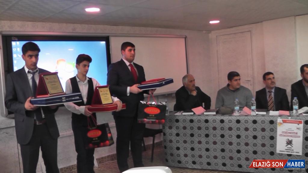 Kur'an Okuma Yarışması Düzenlendi