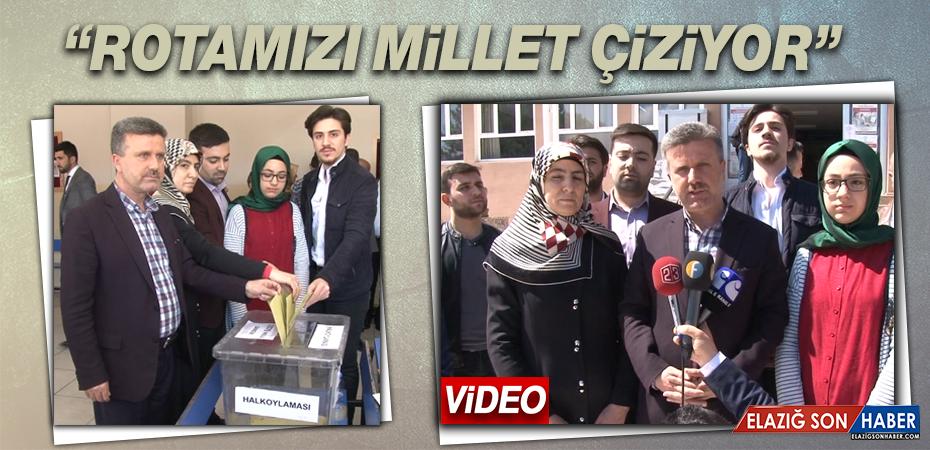 Ak Parti Elazığ  İl Başkanı Ramazan Gürgöze Oyunu Kullandı
