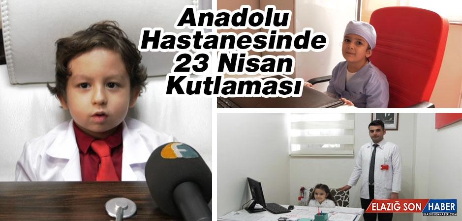 Anadolu Hastanesinde 23 Nisan Kutlaması