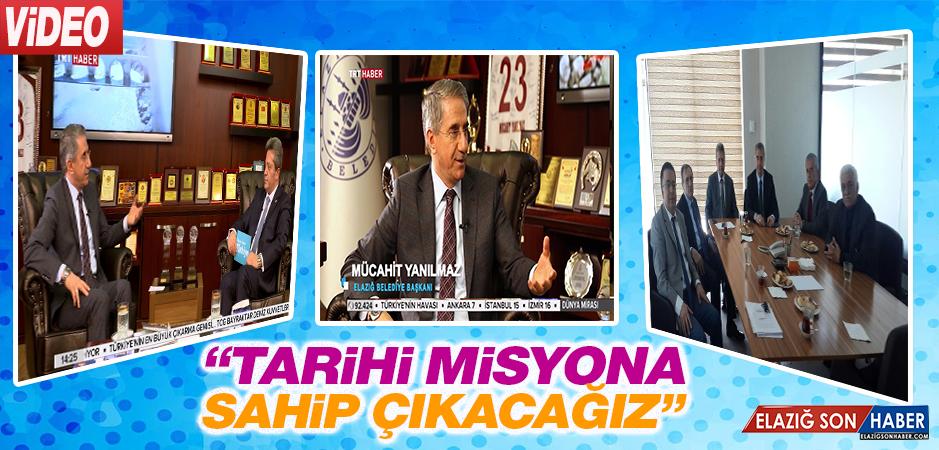 Başkan Yanılmaz, TRT'ye Konuştu