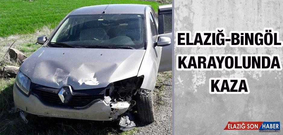 Elazığ-Bingöl Karayolunda Kaza