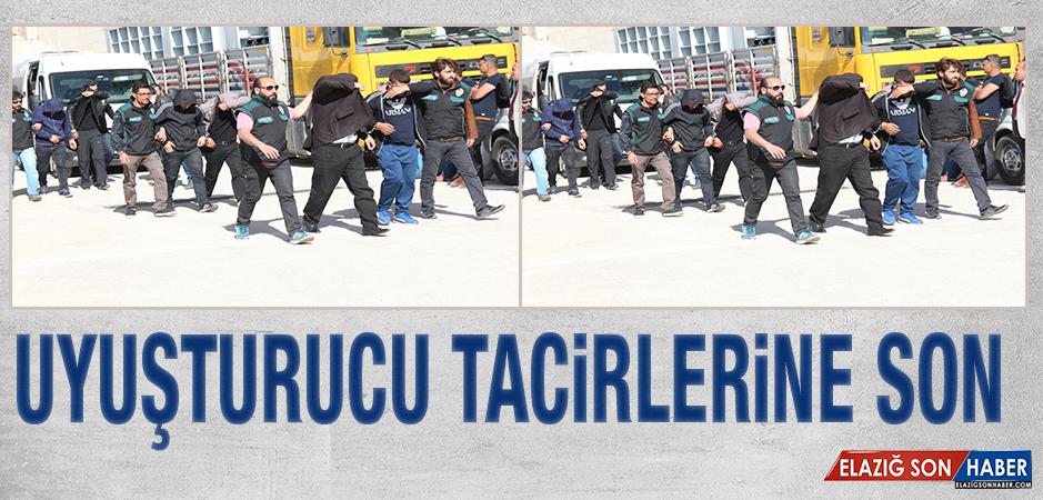 Elazığ'da Uyuşturucu Tacirlerine Operasyon