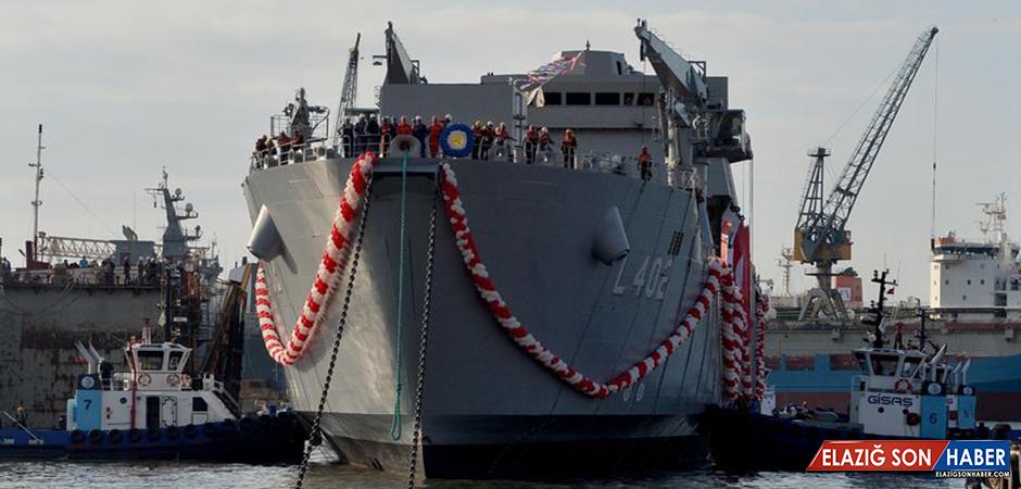 """En Büyük Yerli Savaş Gemisi """"Bayraktar"""" Yarın Hizmet Giriyor"""