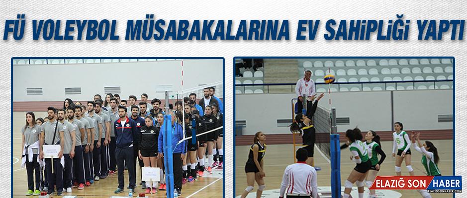 """FÜ'de """"Voleybol 1. Lig Grup Birinciliği"""" Müsabakaları Start Aldı"""
