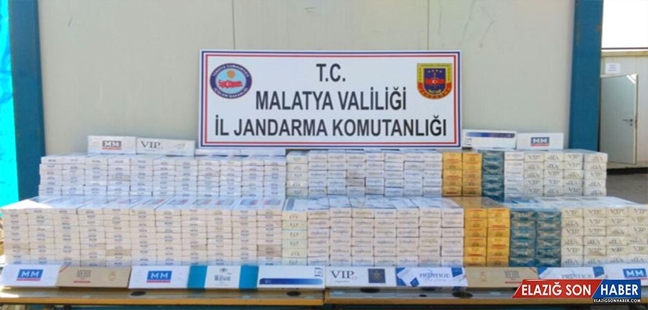 Kale'de 8 Bin 600 Paket Kaçak Sigara Ele Geçirildi