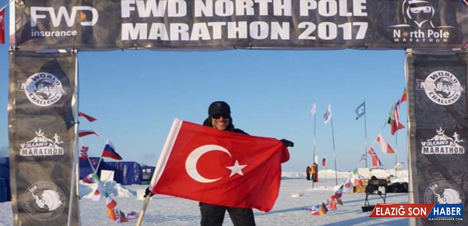 Kutuplarda maraton koşan ilk Türk atlet oldu