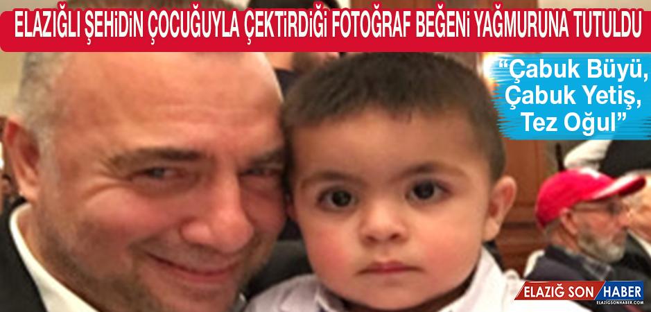 Oktay Kaynarca'nın, Elazığlı Şehidin Çocuğuyla Fotoğrafı Büyük Beğeni Aldı