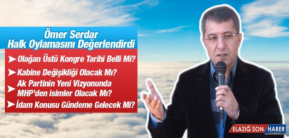 Ömer Serdar Halk Oylamasını Değerlendirdi