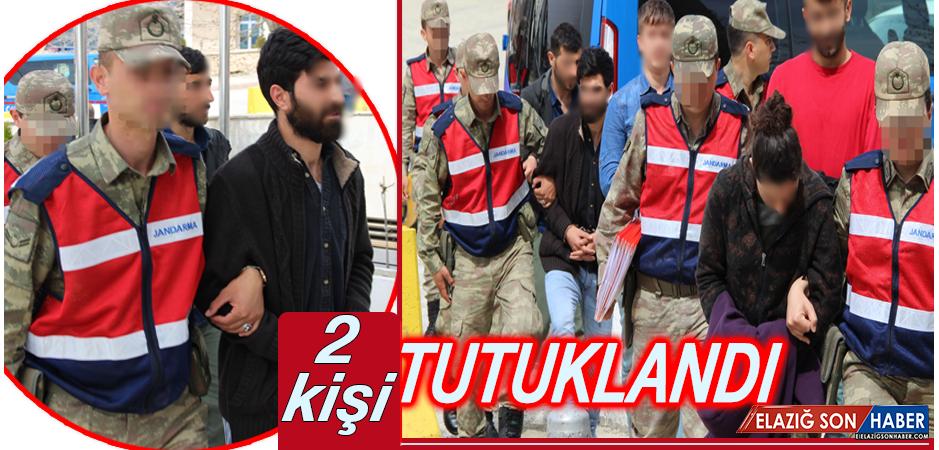 Operasyonda Gözaltına Alınan Şüphelilerden 2'si Tutuklandı