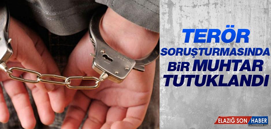 PKK/KCK Soruşturmasında Bir Muhtar Tutuklandı