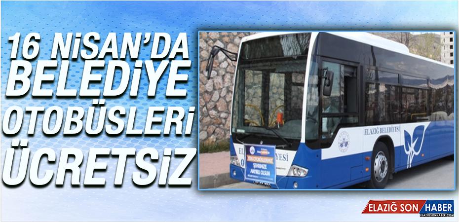Referandum Günü Belediye Otobüslerinde Ücretsiz Ulaşım