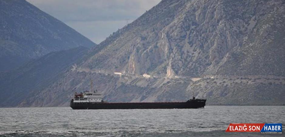 Rus Gemisi Karadeniz'de Battı