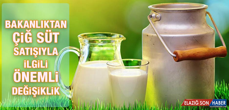 Süt Satışıyla İlgili Önemli Karar