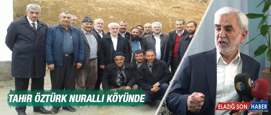 Tahir Öztürk Nurallı Köyünde