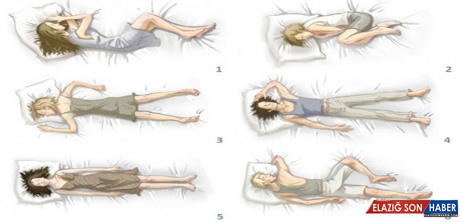 Uyuma şekliniz kişiliğinizi yansıtıyor