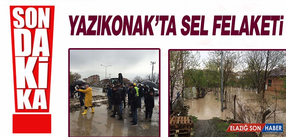 Yazıkonak'ta Sel Felaketi