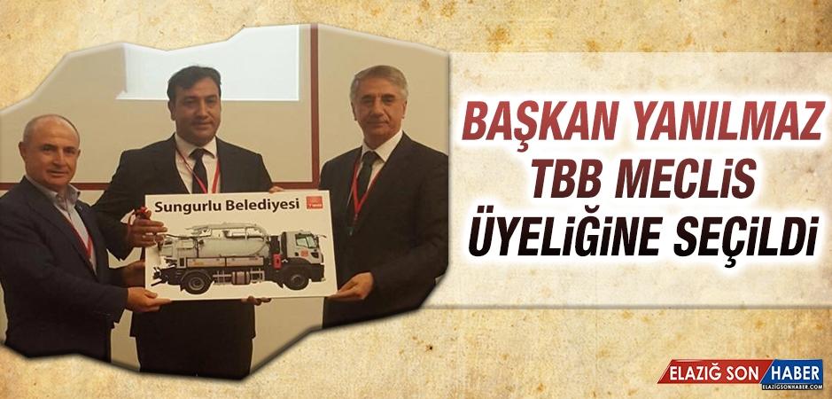 Başkan Yanılmaz, TBB Meclis Üyeliğine Seçildi