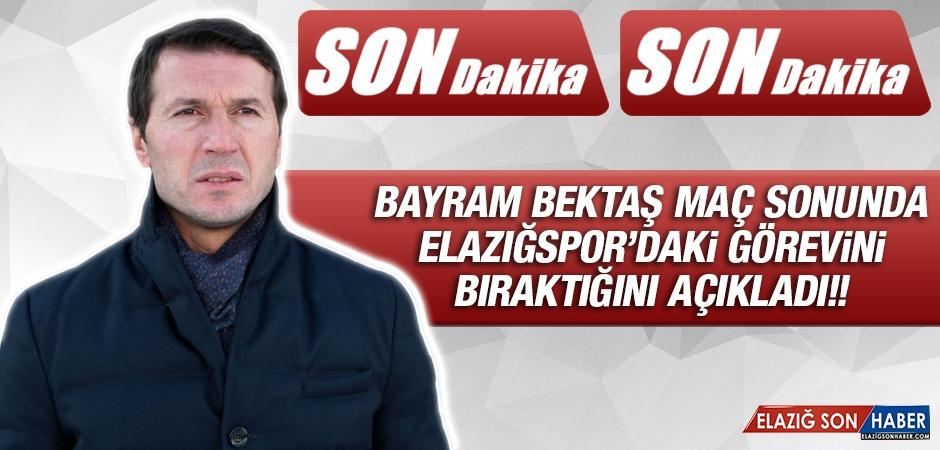 Bayram Bektaş Maç Sonunda Açıkladı! Elazığspor'dan Ayrılıyor!