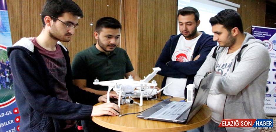 Elazığ'da Uçan Hava Araçları ve Drone Eğitimi