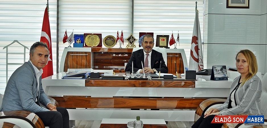 Gümrük Bölge Müdürü, Başkan Alan'ı Ziyaret Etti