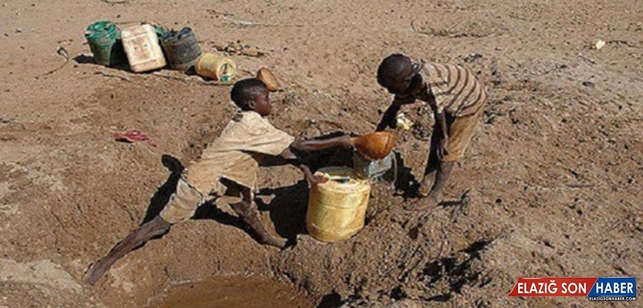 Kenya 'kuraklık felaketiyle' Kurudu!