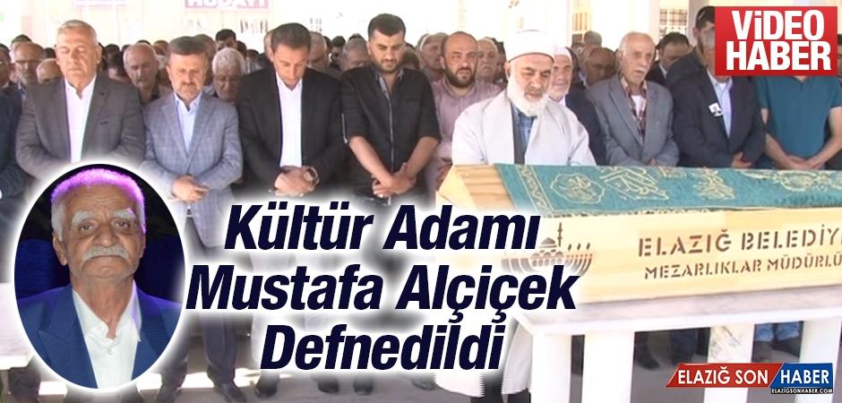 Kültür Adamı Mustafa Alçiçek Defnedildi