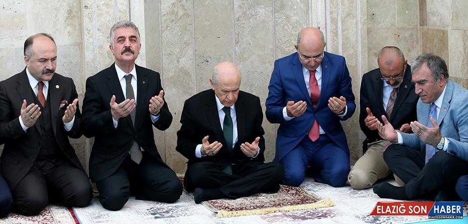 Ülkücü Şehitler İçin Dua Edildi