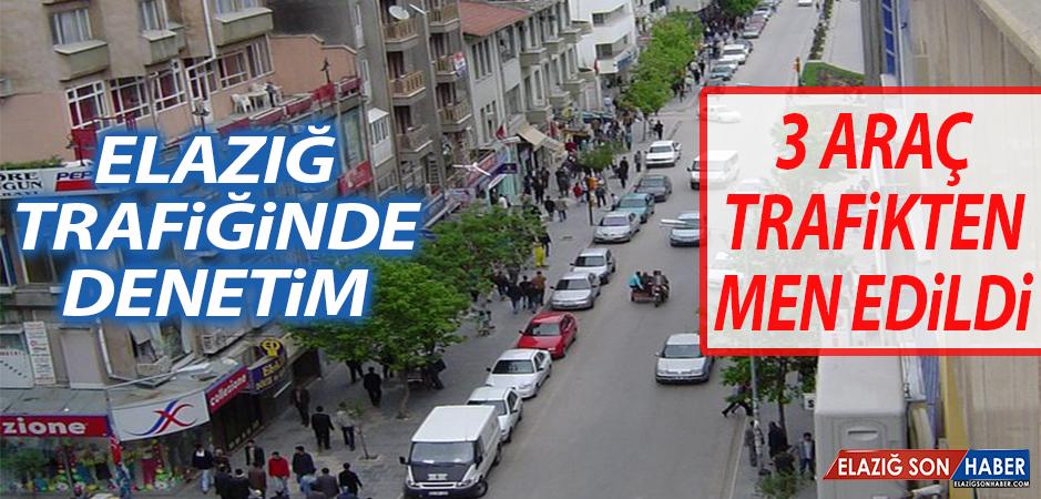 3 Araç Trafikten Men Edilirken, 6 Araca Para Cezası Kesildi