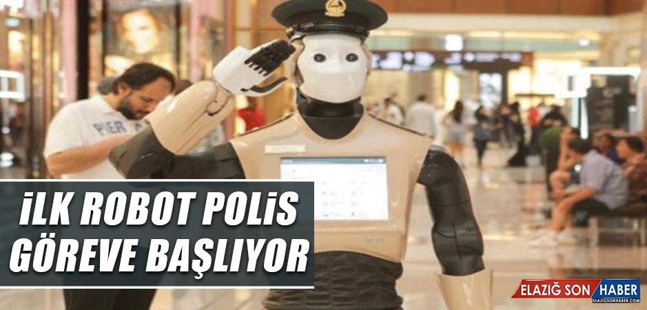 Dubai'de İlk Robot Polis Görev Başına Geçiyor