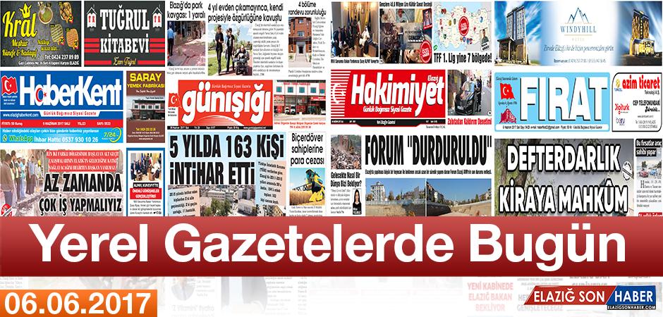Günün Yerel Gazete Manşetleri