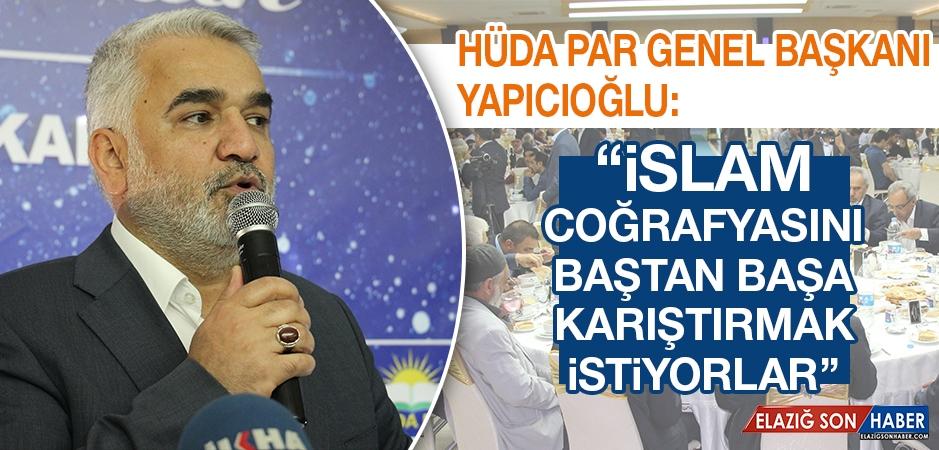 HÜDA PAR Genel Başkanı Yapıcıoğlu Elazığ'da