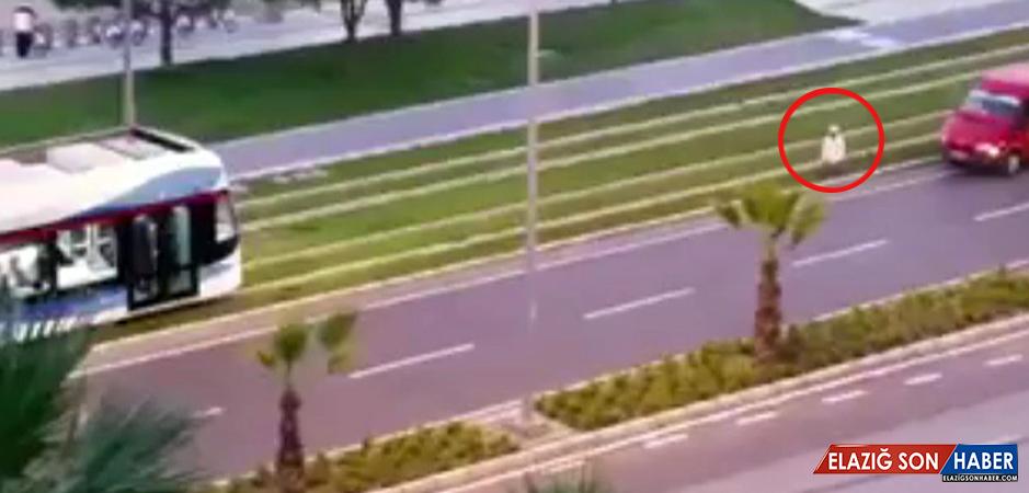 Tramvay Hattında Namaz Kıldı, Makinist Bekledi